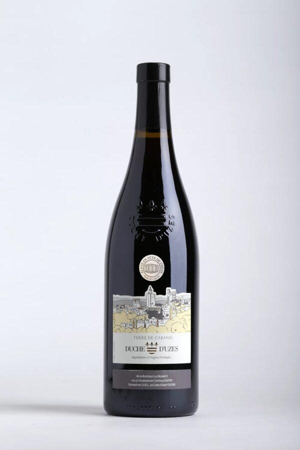 bouteille de vin Cabanis rouge