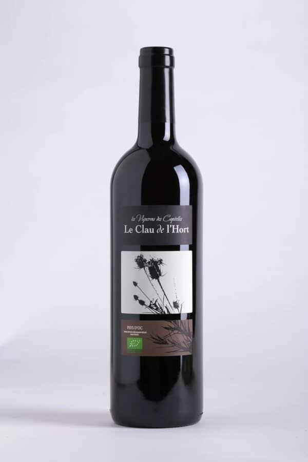 bouteille de vin Causse de l'Hort rouge