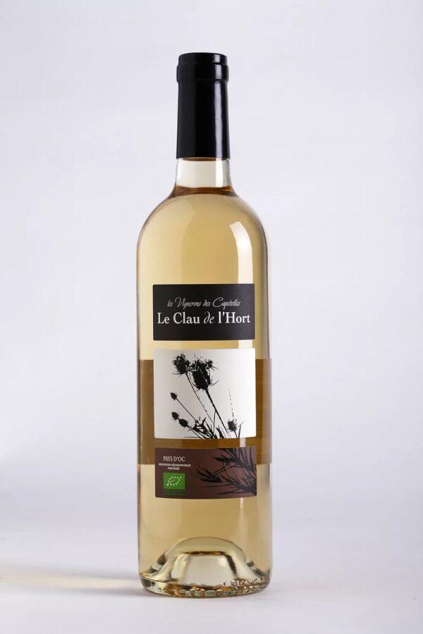 bouteille de vin Causse de l'Hort Blanc