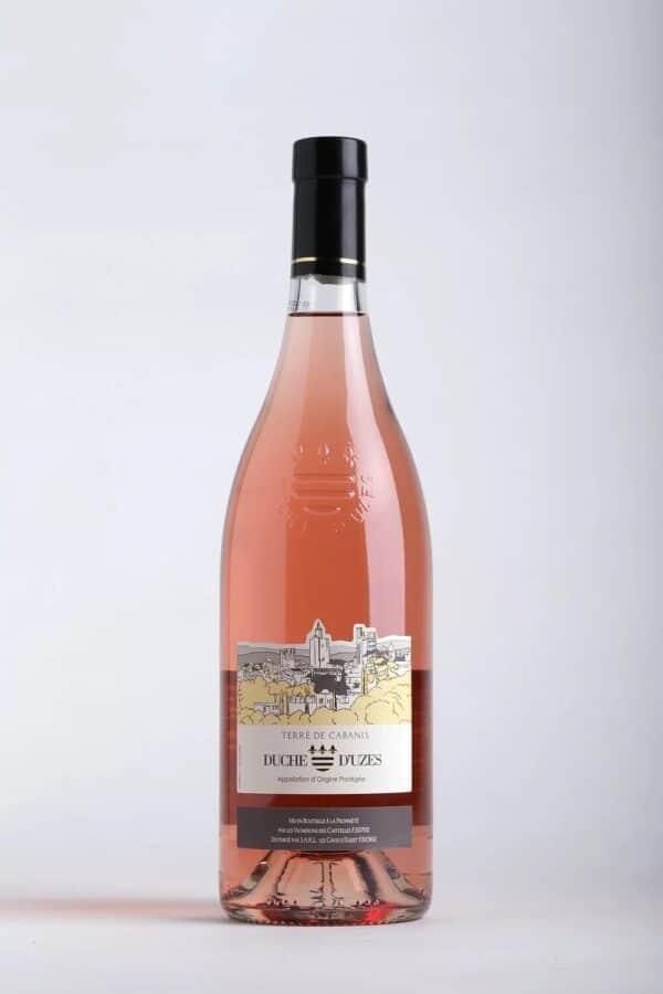 bouteille de vin Terre de Cabanis Rosé