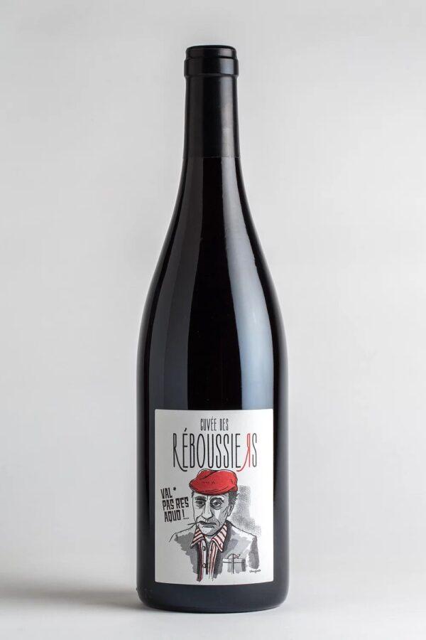 bouteille de vin reboussiers rouge