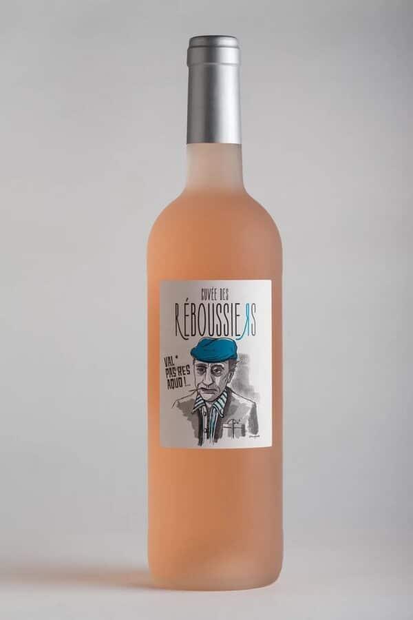 bouteille de vin igp Gard reboussiers