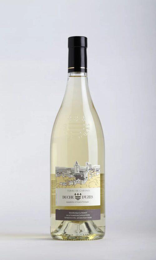 bouteille de vin Terre de Cabanis blanc