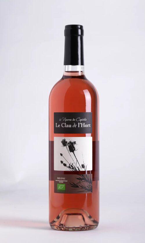bouteille de vin Causse de l'Hort rosé