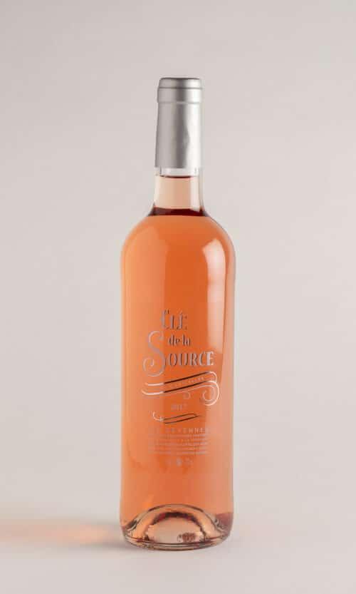 bouteille de vin Clé de la Source