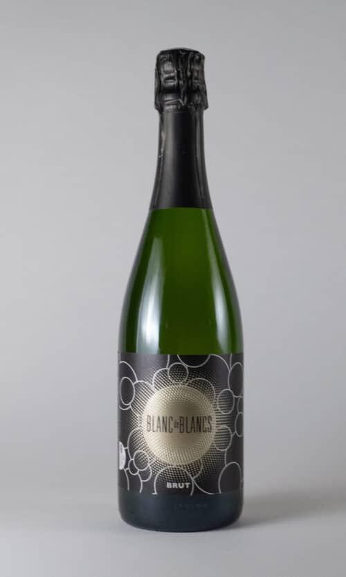 bouteille de vin Blanc de Blancs brut