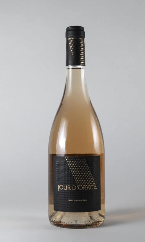 bouteille de vin Jour d'Orage